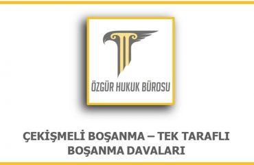Çekismeli Boşanma Ankara