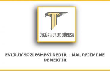 Ankara Evlilik Sözleşmesi Avukatı